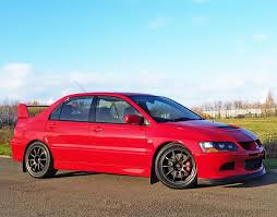 mitsubishi evo red used 2004 mitsubishi evo vii ix evolution viii 260 for sale in