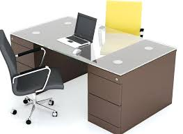 glass top office desk best office table design simple office table design glass top in