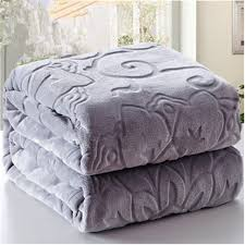 New winter bedding blankets 100 microfiber emboss home blanket