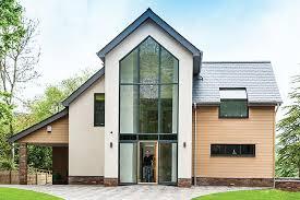 eco home plans minimalist modern eco home plans self build co uk