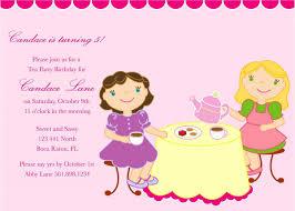 Birthday Invitation Card For Kids Kid U0027s Birthday Invitation