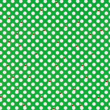 polka dot santa hat wrapping paper the container store