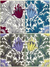 william morris and co textiles anemone