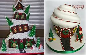 Decoration Of Christmas Cake by Christmas Cakes For Children Cake Geek Magazine