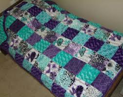 Girls Bedding Purple by Girls Bedding Etsy