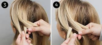 hair braiding styles step by step try this the four strand braid made easy ish more com
