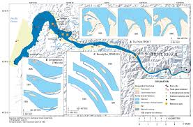 Oregon On Us Map by Usgs Scientific Investigations Report 2011 U20135041 Channel Change