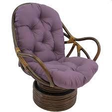 Pink Papasan Cushion by Amazon Com Blazing Needles Solid Twill Swivel Rocker Chair