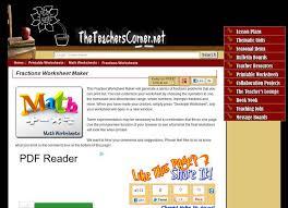 make your own fractions worksheet resources digital chalkboard