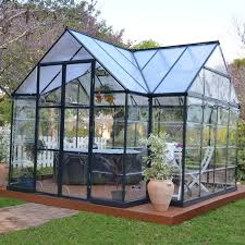 Palram Greenhouse Palram Chalet Greenhouse Kit Grow Your Favorite Plants And