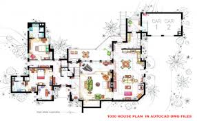 floor plan using autocad house autocad plan autocad house plans with dimensions