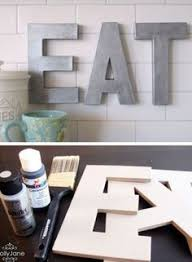 kitchen decor collections eat sign wooden letters wood decor rustic decor kitchen