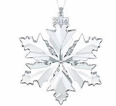 swarovski annual edition 2014 snowflake ornament ca