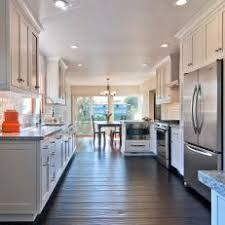 Transitional White Kitchen - white transitional galley kitchen photos hgtv