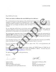 child care cover letter daycare template resume child x cover letter