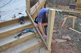 Banister Height Decks Com Deck Stair Railings