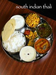 south indian thali recipe veg south indian lunch menu ideas