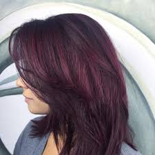 brown plum hair color 30 intriguing plum hair color ideas it is all about looking