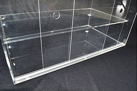 Muffin Display Cabinet Clear Large Acrylic Cupcake Bakery Display Case Muffin Pastry