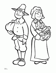 thanksgiving coloring pages printables pilgrims coloring home