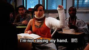Raising Hand Meme - who is high right now raise your hand gif on imgur