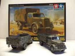 opel blitz new 1 48 scale tamiya german 3 ton truck opel blitz by rick