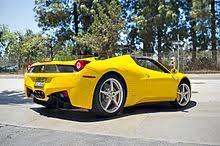 2011 458 italia specs 458