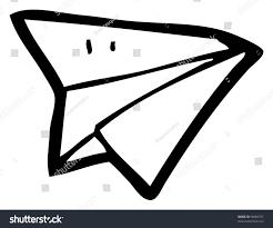 cartoon paper airplane stock illustration 96860737 shutterstock