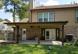 Texas Custom Patios Patio Covers Houston Spring Texas Home Exteriors