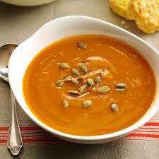 south beach thanksgiving recipes spiced sweet potato soup recipe taste of home