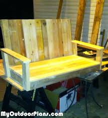 Woodworking Plans And Projects Pdf Free by Glider Bench Plans Gliders Glider Swing Bench Plans Diy Glider