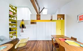 Interior Design Things Climb Work U0026 Store Things In This Paris Apartment U0027s