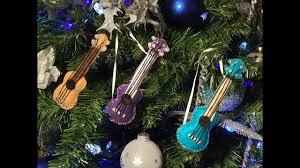 ukulele tree ornament how to make a felt ukulele