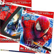 amazon marvel spiderman paint water books paint
