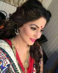 akshara wedding hairstyle 9 best hina khan images on pinterest actresses female actresses