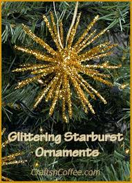 diy classic starburst ornaments made with toothpicks crafts n
