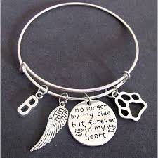 pet remembrance jewelry buy pet memorial jewelry loss of pet loss of dog bangle no
