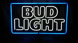 bud light lighted sign bud light neon sign 2 3 collectibles in hayward ca