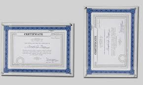 certificate frame a4 wall mounted acrylic photo certificate frame floating acrylic