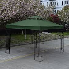 Patio Table Top Replacement by 10 U0027 X 10 U0027 1 Tier Or 2 Tier 3 Colors Patio Canopy Top Replacement