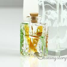 cremation urn jewelry miniature glass bottles pendant for necklace wholesalecremation
