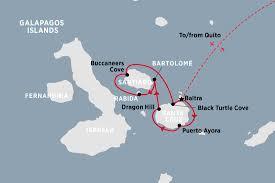 Galapagos Map Galapagos Islands Tours Travel U0026 Trips Peregrine Adventures