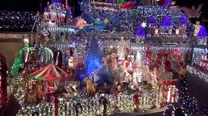 Pleasanton Christmas Lights House Transformed Into A Christmas Castle Winner Of The