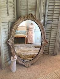 baroque mirror shabby chic mirror ornate oval mirror large wall