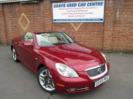 convertible lexus hardtop used lexus sc cars for sale motors co uk