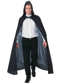 Cloak Halloween Costumes Black Hooded Capes Halloween Costume Hooded Cape