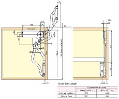 Cabinet Door Lift Systems Vertical Lift Cabinet Door Mechanisms Cabinet Doors