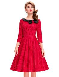 online get cheap red skater dress retro aliexpress com alibaba