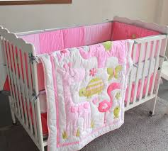 Puppy Crib Bedding Sets Giol Me Num Pink Crib Bedding 3d Embroidery Baby Bedding Set