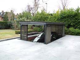 house car parking design home architecture residential underground garage cost house